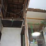 浴室の天井解体