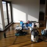 マンションの床修理