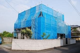 屋根瓦の塗装