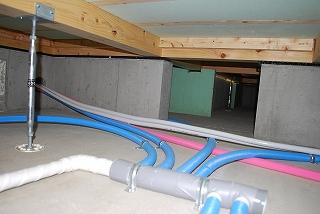 新築給排水配管工事