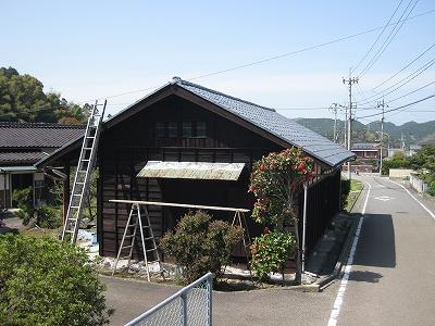 【 屋根瓦の塗装工事 】