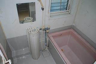 浴室システムバスの入替え