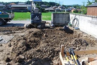 給水配管の引き込み