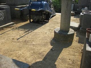 墓地のリフォーム