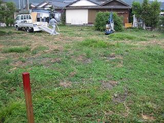 敷地の地盤調査