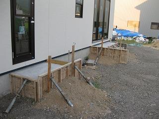 新築住宅の外部工事sss-hpIMG_0224