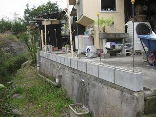 ブロック塀の取り替え
