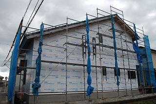 新築住宅工事の進捗状況