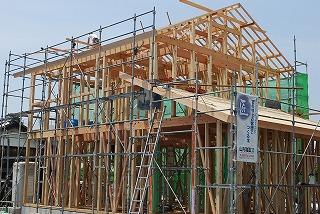 新築住宅の建前・上棟