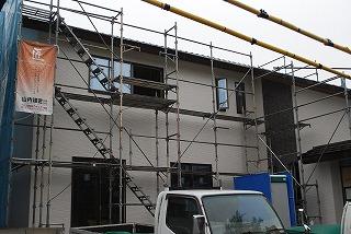 外壁サイディング施工の完了