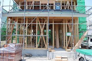 新築住宅の構造躯体の検査