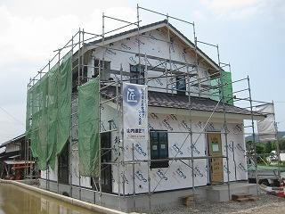 新築工事の状況です。