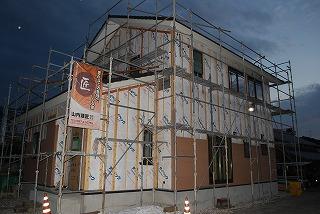 外壁サイディング施工