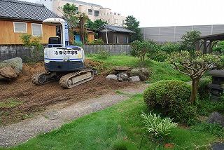 庭の外構工事