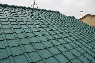 屋根瓦の塗り替え