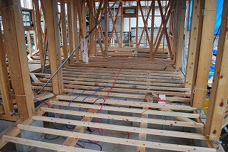 新築工事・構造材躯体工事