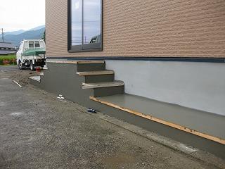 新築現場の仕上げ段階です!