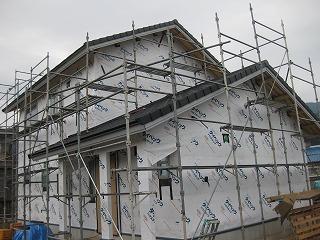 新築工事の状況
