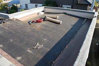 板金屋根の雨漏り修繕工事