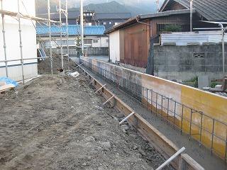 新築住宅の外部仕上げ施工