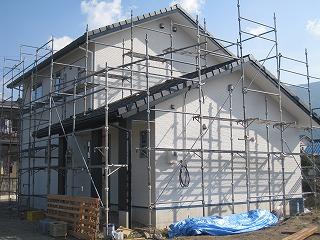 新築住宅の工事