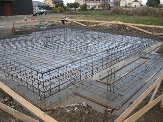 新築住宅の基礎配筋検査