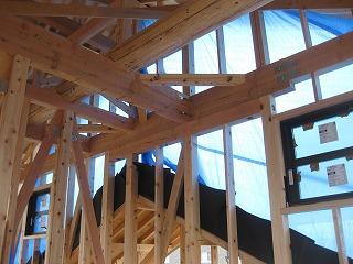 新築住宅の構造躯体の補強
