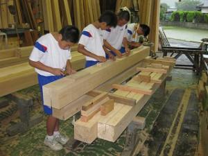 中学生の職場体験実習