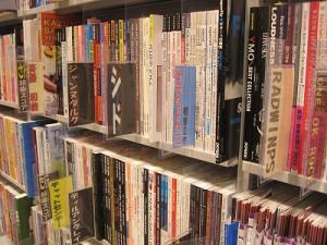 書店楽譜コーナー
