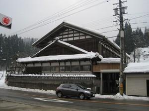 田舎の木造建築