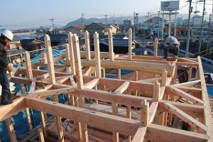 新築住宅の上棟の日