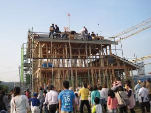 新築の建前・上棟