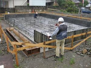 新築工事の基礎