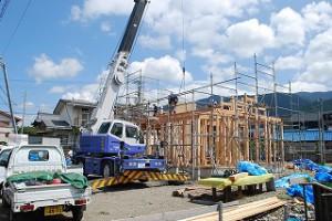 新築の建前