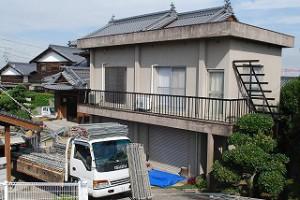 屋上屋根の設置