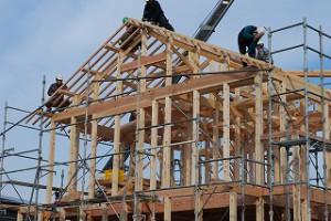 2014年12月17日大安吉日 新築住宅の上棟