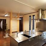 ステンレス・オープンキッチン