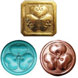 家紋 真鍮仕上げ ¥35,000~