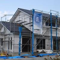 新築外壁サイディング張りssshpDSC_0099