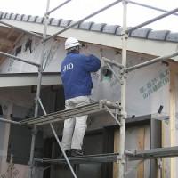 新築:外壁下地防水検査ssshpIMG_2119
