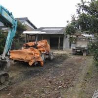 新築予定現場の既存倉庫解体ssshpIMG_2126