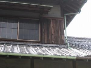 雨戸戸袋の修理