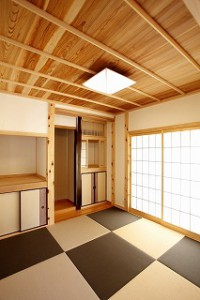 無垢・天然素材の和室