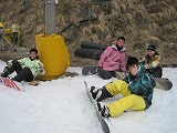 スノーボードデビュー