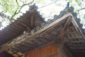 神社さんの瓦修理
