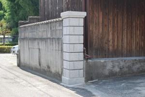 門柱の取り替え