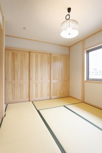 和室(間仕切り3枚引込み戸)