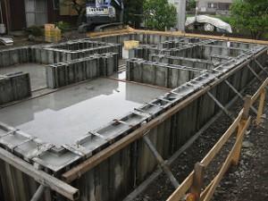 新築基礎工事