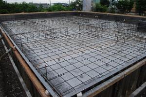 注文住宅の着工基礎工事