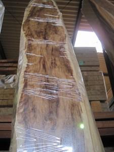 杉泡木目の銘木